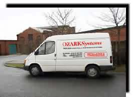 Ozark installation vehicle